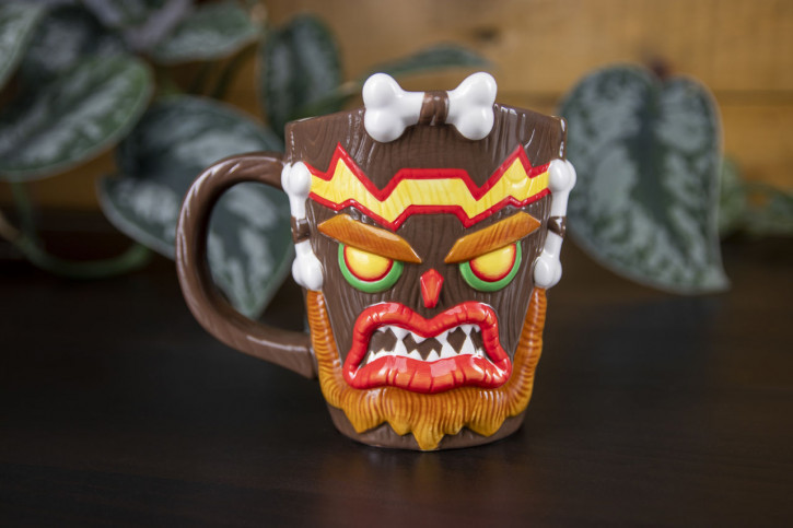Crash Bandicoot Uka Uka Becher