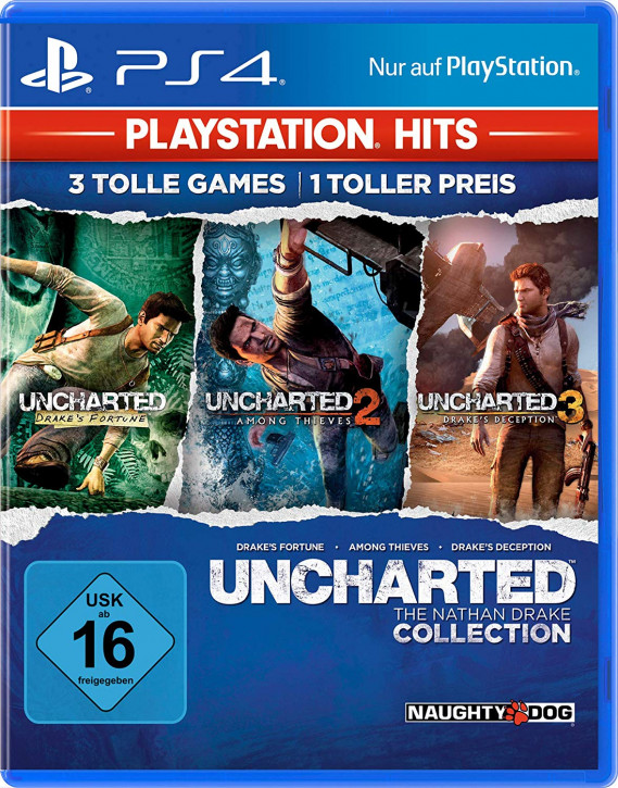 Uncharted: The Nathan Drake Collection - PlayStation Hits [PS4]