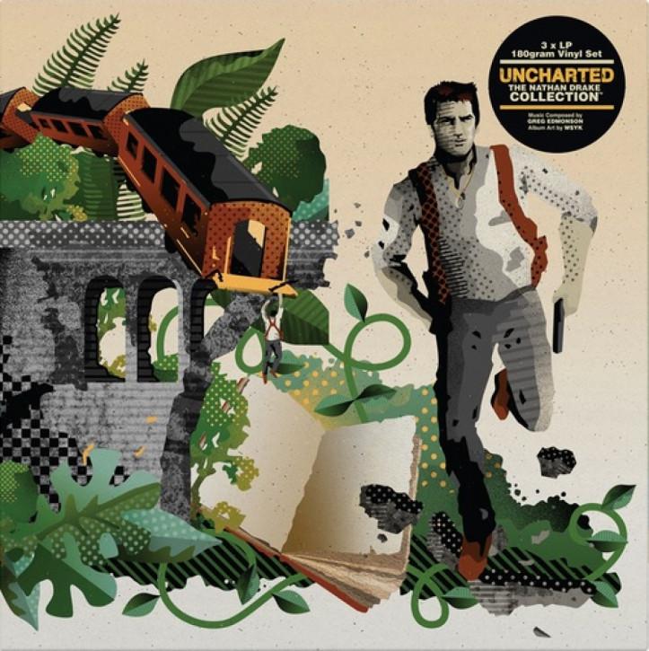 Uncharted: The Nathan Drake Collection (Coloured 3LP) - Ost, Greg Edmonson [Vinyl LP]