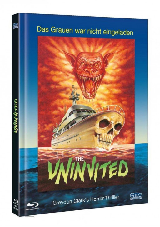 Uninvited - Limited Mediabook - Cover A [Blu-ray+DVD]