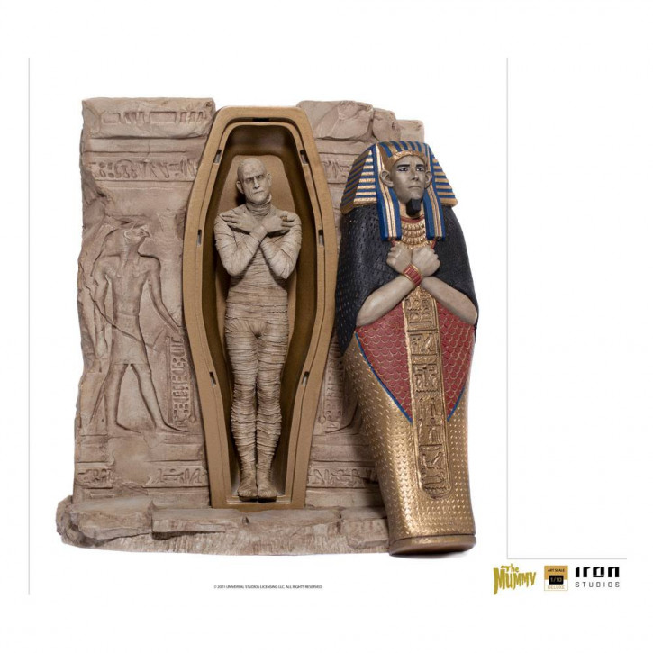 Universal Monsters Deluxe Art Scale Statue - The Mummy