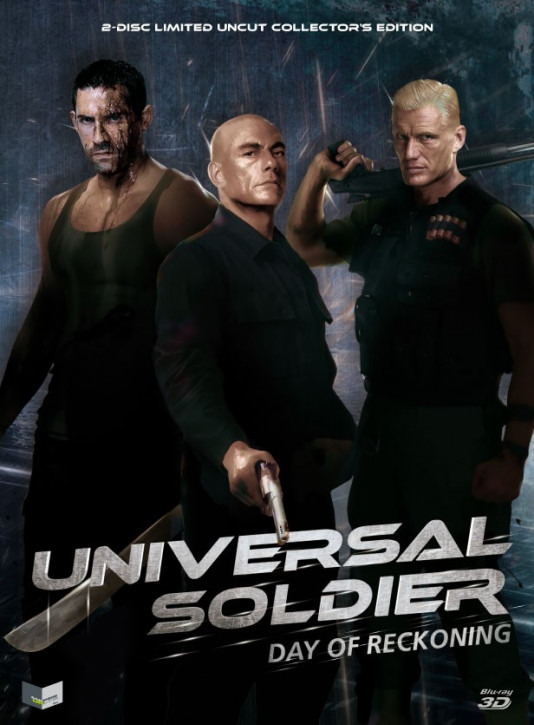 Universal Soldier: Day of Reckoning - Limited Mediabook Edition - Cover A [3D Blu-ray + Blu-ray+DVD]