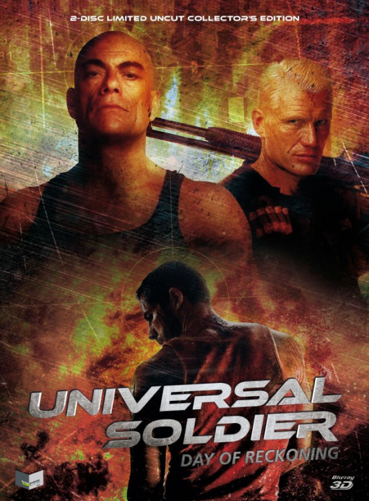 Universal Soldier: Day of Reckoning - Limited Mediabook Edition - Cover B [3D Blu-ray + Blu-ray+DVD]