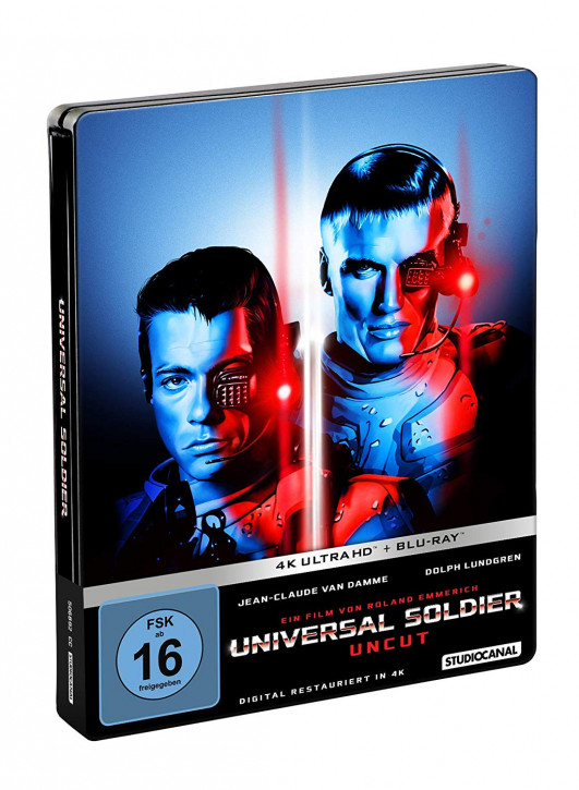 Universal Soldier - Limited Steelbook Edition [4K UHD Blu-ray]