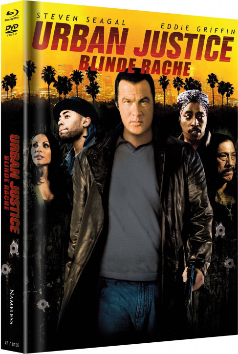 Urban Justice - Limited Mediabook - Cover B [Blu-ray+DVD]