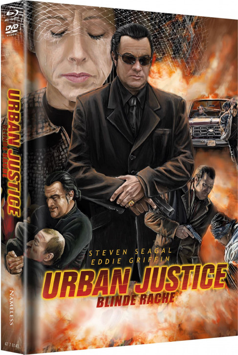 Urban Justice - Limited Mediabook - Cover C [Blu-ray+DVD]