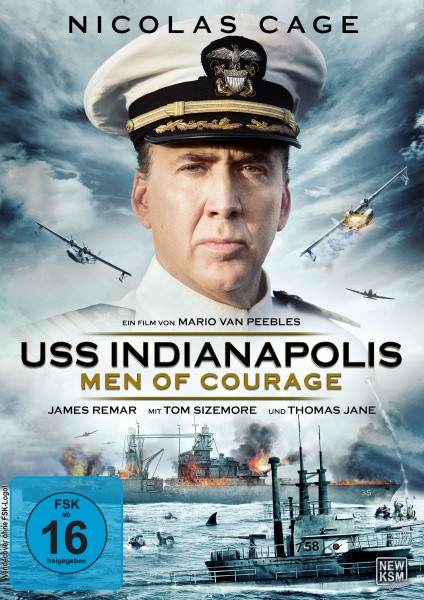 USS Indianapolis - Men of Courage [DVD]