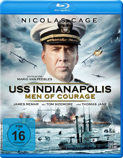 USS Indianapolis - Men of Courage [Blu-ray]