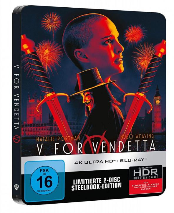 V wie Vendetta - Steelbook [4K UHD+Blu-ray]