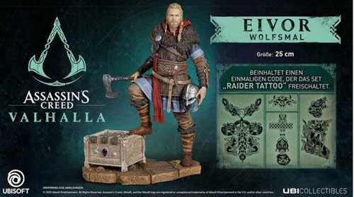 Assassins Creed Valhalla: Eivor Wolfsmal - Figur