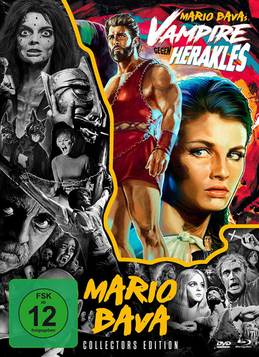 Vampire gegen Herakles - Mario Bava-Collection #6 [Blu-ray+DVD]