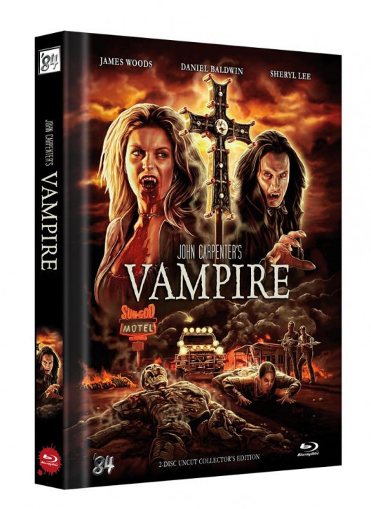 Vampire - Limited Collector's Edition - Cover B [Blu-ray+DVD]