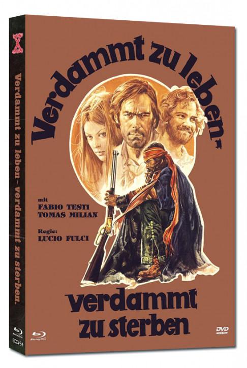 Verdammt zu Leben - Verdammt zu Sterben - Eurocult Collection #034 - Mediabook - Cover A [Blu-ray+DVD]