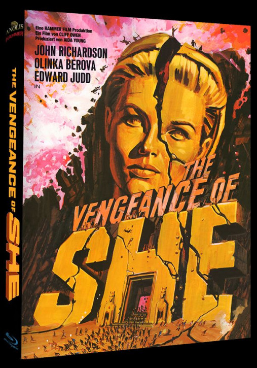 The Vengeance of She - Hammer Edition Nr. 32 - Cover A [Blu-ray]
