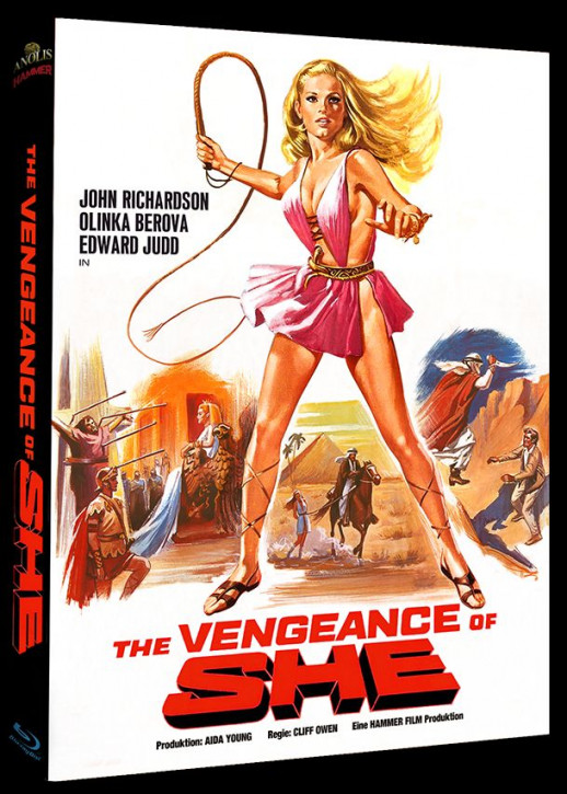 The Vengeance of She - Hammer Edition Nr. 32 - Cover B [Blu-ray]