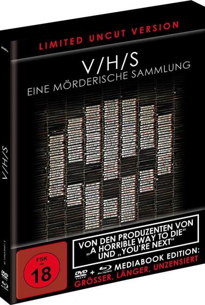 V/H/S - Limited Black Book Edition [Blu-ray+DVD]