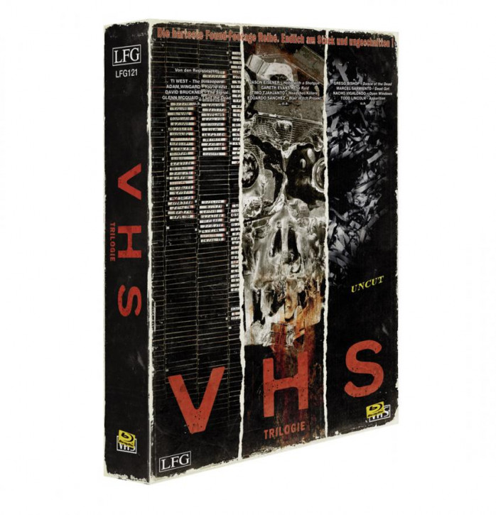 V/H/S Trilogie - Retro Edition im VHS-Look [Blu-ray]