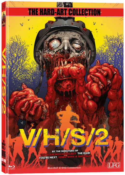 S-VHS - V/H/S/2 - Hart-Art Collection - Cover A [Blu-ray+DVD]