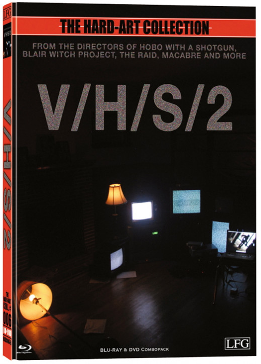 S-VHS - V/H/S/2 - Hart-Art Collection - Cover B [Blu-ray+DVD]