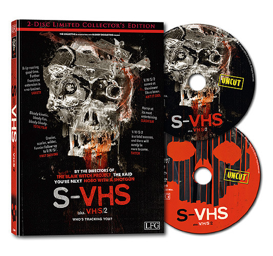 S-VHS - V/H/S/2 - Limited Collector's Edition [Blu-ray+DVD]