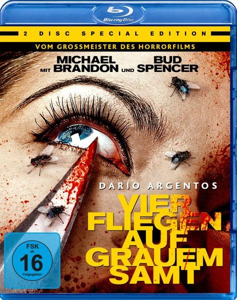 Dario Argentos - Vier Fliegen auf grauem Samt - Special Edition [Blu-ray]