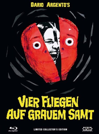 Vier Fliegen auf grauem Samt - Limited Collector's Edition - Cover A [Blu-ray+DVD]