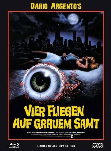 Vier Fliegen auf grauem Samt - Limited Collector's Edition - Cover C [Blu-ray+DVD]
