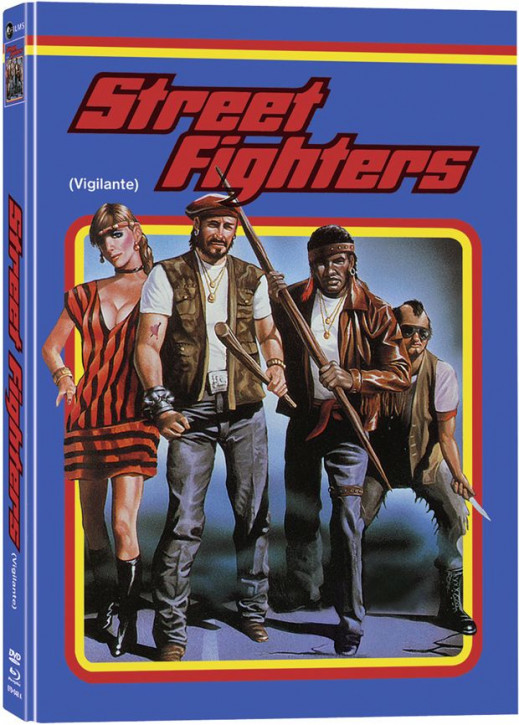 Streetfighters - Vigilante - Mediabook - Cover A [Blu-ray+DVD]