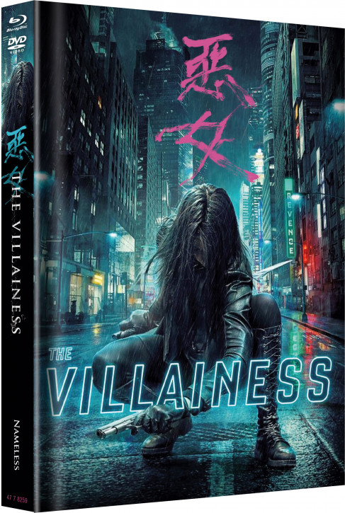 The Villainess - Limited Mediabook Edition - Cover A [Blu-ray+DVD]