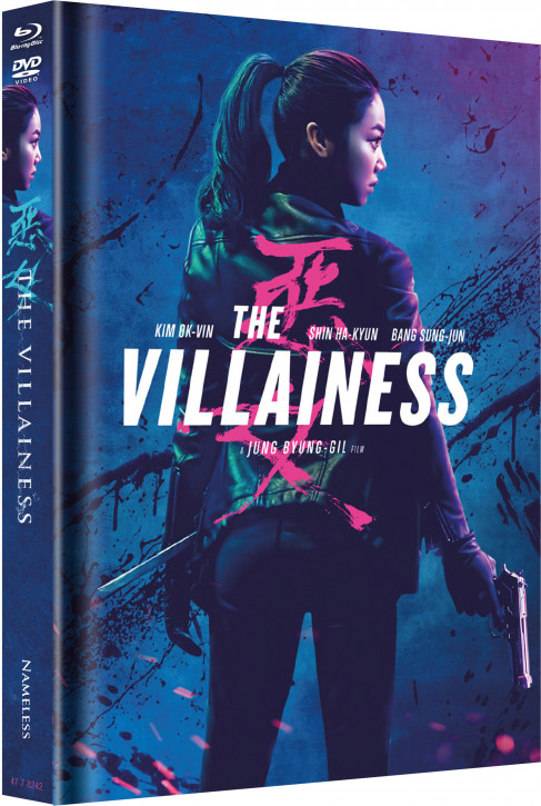 The Villainess - Limited Mediabook Edition - Cover B [Blu-ray+DVD]