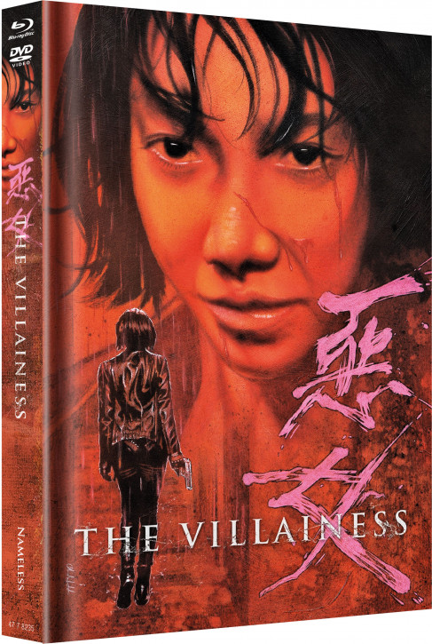 The Villainess - Limited Mediabook Edition - Cover C [Blu-ray+DVD]