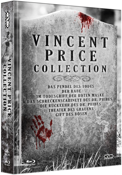 Vincent Price Collection - Limited Collector's Edition [Blu-ray]