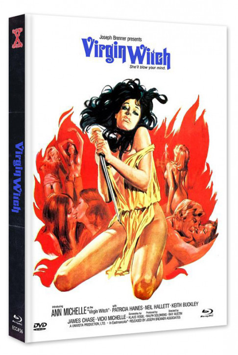 Virgin Witch - Euro Cult Collection #56 - Mediabook - Cover B [Blu-ray+DVD]