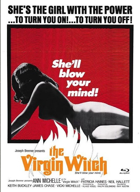 Virgin Witch - Euro Cult Collection #56 - Mediabook - Cover D [Blu-ray+DVD]