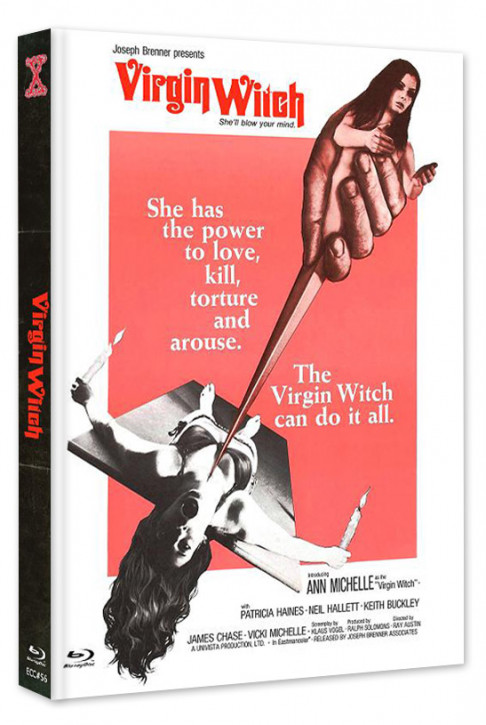 Virgin Witch - Euro Cult Collection #56 - Mediabook - Cover A [Blu-ray+DVD]