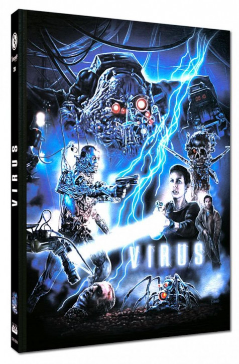 Virus - Limited Mediabook Edition - Cover A [Blu-ray+DVD]