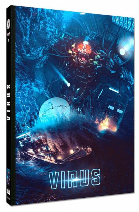 Virus - Limited Mediabook Edition - Cover B [Blu-ray+DVD]