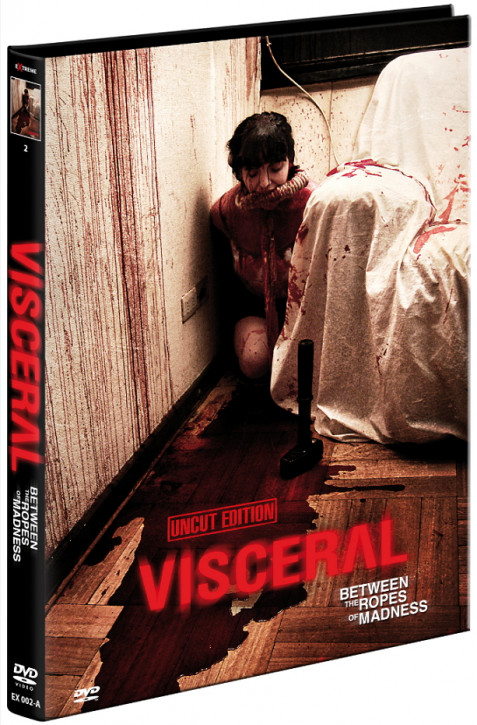 Visceral - Between the Ropes of Madness - Cover A [DVD]