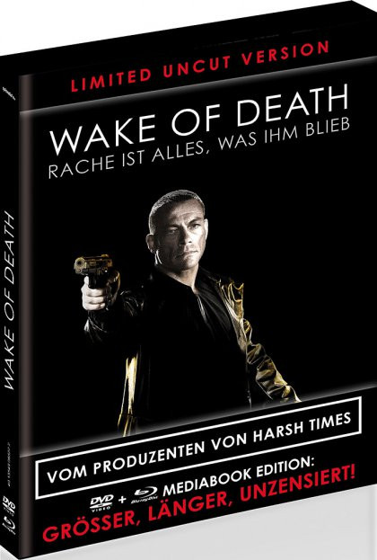 Wake of Death - Limited Black Book Edition [Blu-ray+DVD]