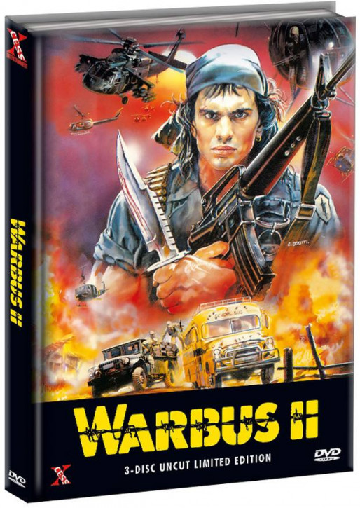 Warbus 2 - The Last Warbus - Triple Action Pack - Limited Mediabook Edition [DVD]