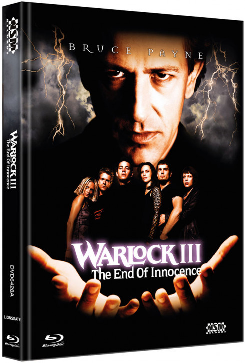 Warlock 3 - The End of Innocence - Limited Collector's Edition - Cover A [Blu-ray+DVD]