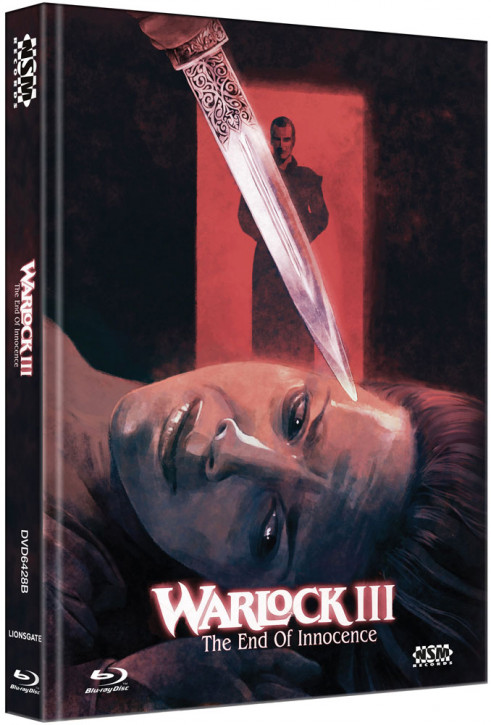 Warlock 3 - The End of Innocence - Limited Collector's Edition - Cover B [Blu-ray+DVD]