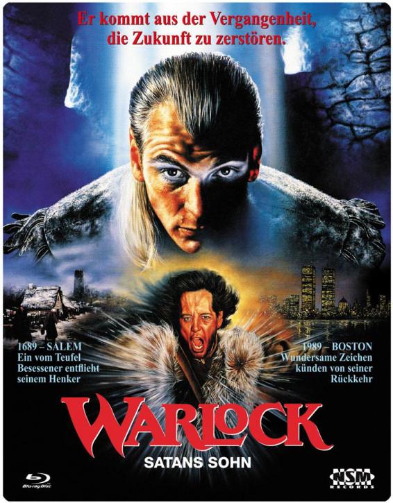 Warlock - Satans Sohn (3D FuturePak) [Blu-ray]