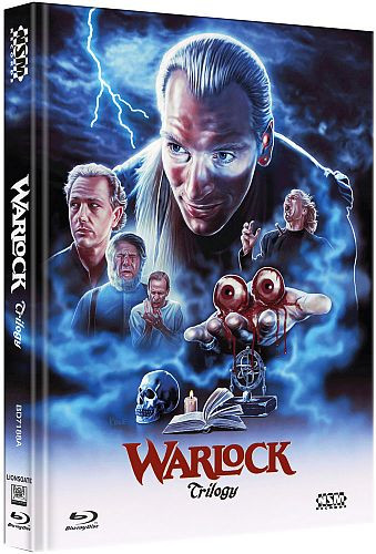 Warlock Tripple Feature - Limited Collector's Edition - Cover A [Bluray]