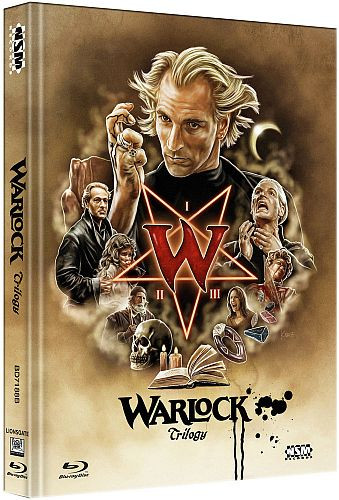 Warlock Tripple Feature - Limited Collector's Edition - Cover B [Bluray]