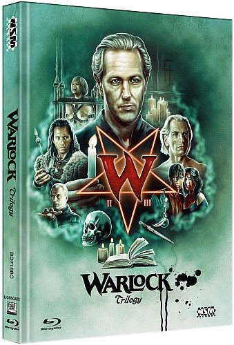 Warlock Tripple Feature - Limited Collector's Edition - Cover C [Bluray]