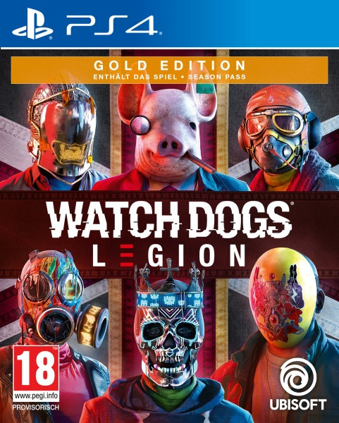 Watch Dogs Legion - Gold Edition [PS4]