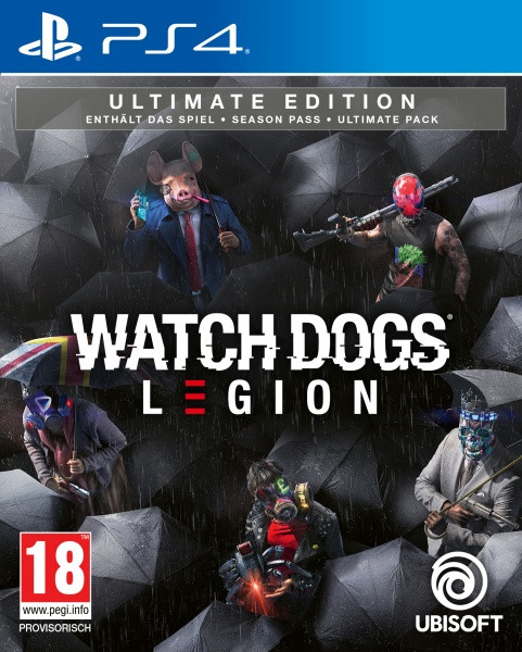 Watch Dogs Legion - Ultimate Edition [PS4]