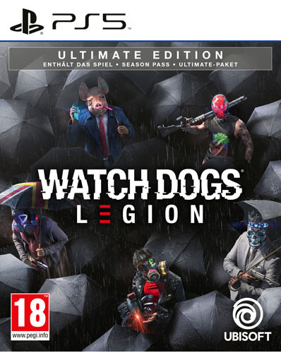 Watch Dogs Legion - Ultimate Edition [PS5]