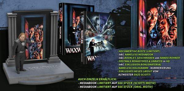 Waxwork - Büste inkl. Mediabook [Blu-ray]
